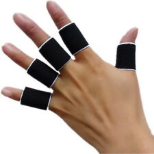 10pcs Stretchy Finger Sleeve Support Wrap Arthritis Guard Volleyball Basketba JL