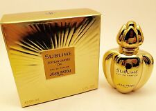 JEAN PATOU SUBLIME Edp 30ml Vapo VINTAGE Limited ed. PERFECT PERFUME!