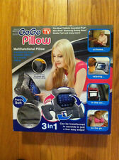 GoGo Pillow. Multifunctional Pillow. 3 in 1. Brand New. Fits Most Tablets. Grey.