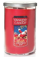 YANKEE CANDLE Christmas Eve 22 OZ 2 Wick Tumbler *Free Shipping*