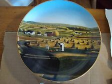 Danbury Mint Lancaster Country Harvest Decorative Plate #A553 From 1992 Mint