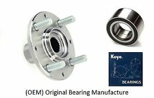 1992-2000 HONDA Civic Front Wheel Hub & (OEM) KOYO Bearing Kit (LX NON-ABS)