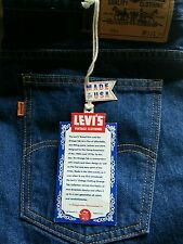 Levis vintage collection jeans new with tags orange tab 684 w 33 imperfection