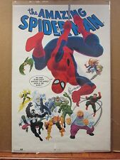 Vintage 1990 The Amazing Spider-man original Marvel comics poster 10564