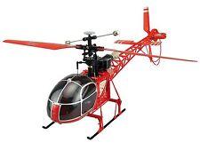 RC helicópteros, helicópteros lama 4 canal, 2,4 GHz 51cm inc Lipo batería nuevo