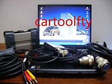 Top quanlity MB compact C3 star can test truck+ Xentry 07/2015 +D630 laptop