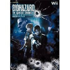 RESIDENT EVIL Biohazard The Darkside Chronicles official guide book / Wii