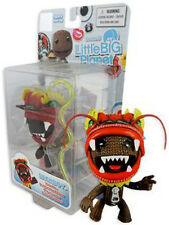 Little Big Planet Sackboy Dragon Headdress Action Figure Collectable Gaming Gift