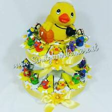 BOMBONIERE Nascita Battesimo Compleanno fetta  di torta con paperella 1,50 €