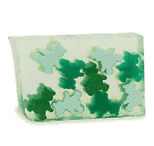 Primal Elements Teddy KIWI BEAR, 7.0+ oz. Glycerin Soap