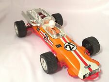 VINTAGE TIN RACE CAR TOY USSR RUSSIAN SOVIET FRICTION F1 Formula one 1980s