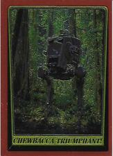 1999 Topps Star Wars Chrome Archives #83 Chewbacca Triumphant!