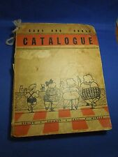 Vintage 1930s Rears and Robust Catalogue Bathroom Book Filled with Toilet Paper