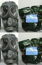 2x Scott M95 Respirator Gas Mask Swat Military Police Prepper New Filter