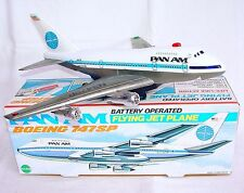 Echo China BOEING 747 SP PAN AM  CIVIL JET PLANE 34cm Battery Op. MIB`74 RARE!