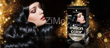 SCHWARZKOPF MILLION COLOR COLORATION TEINTURE COULEUR 1-1 BLAU CHWARZ