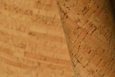 """9"""" x 9"""" NATURAL CORK Fabric, finest available, Made Portugal TEXTILE QUALITY B5"""