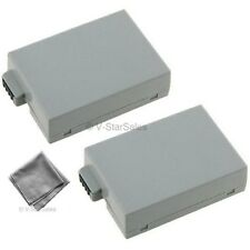 LP-E8 LPE8 Battery x2 + BONUS for Canon EOS T2i T3i T4i T5i 650D 700D