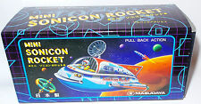 ROBOTS : MINI SONICON ROCKET TINPLATE / PLASTIC MODEL MADE BY MASUDAYA IN 1997