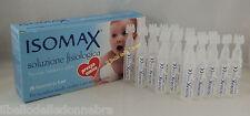 ISOMAX 20 flaconcini 5ml soluzione fisiologica sterile neonati adulti bambini