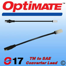 Genuine Optimate TM to SAE Converter Cable Lead (TM77/ O-17) & Accumate Chargers