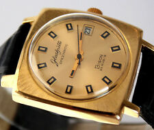 Superb GERMAN GUB GLASHUTTE Spezimatic BISON Cal. 75 WRIST WATCH ca.1973