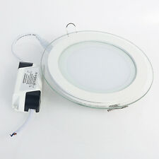 Ultra Thin 9W Recessed Ceiling CREE LED Panel Down Lamps Indoor Cool White Flat