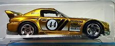 Hot Wheels 2014 Cool Classics Honda S2000 Spectrafrost Gold Racing 1:64