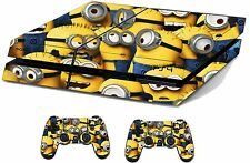 Minions Sticker/Skin PS4 Playstation 4 Console & Remote controller,ps4sk2