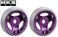 HKS Adjustable Camshaft Pulleys (Pair) - Mitsubishi Evo 1-9 4G63