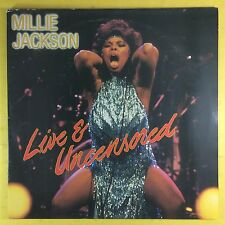 Millie Jackson - Live & Uncensored - Important Records TAD-LP001 Ex+ Condition