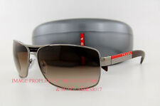 Brand New Prada Sport Linea Rossa Sunglasses PS 54I 54IS 5AV6S1 BROWN for Men