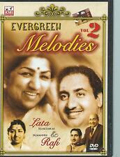 DVD - EVERGREEN MELODIES vol 2 BOLLYWOOD MUSIC - ZONE ALL WORLD