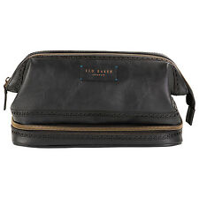 Ted Baker - Black Brogue Cables and Clobber Bag
