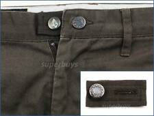 Dark Brown Pants Shorts Jeans Trouser Waist Extension Extend Size Button