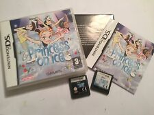 2 x NINTENDO DS NDS DSL DSi GAMEs PRINCESS ON ICE #1 COMPLETE + #2 Cartridge PAL
