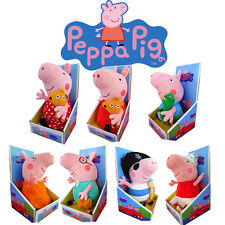1PC CUTE 30CM PEPPA PIG COLLECTION KID BABY SOFT PLUSH TOY DOLL BEAR STUFFED TOY