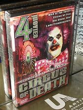 Circus of Death (DVD) Web Of The Spider, Die Sister Die, Lady Frankenstein, NEW!