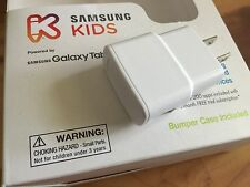 GENUINE SAMSUNG KIDS GALAXY TAB E LITE TABLET WHITE AC ADAPTER CHARGER