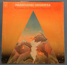 MAHAVISHNU ORCHESTRA VISIONS OF THE EMERALD BEYOND LP '75 PLAYS GREAT! VG+/VG!!