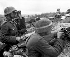 German Army Soldiers Infantry Russia 1942 World War 2 Reprint Photo 5x4 Inch