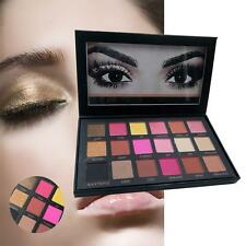 New Rose Gold Textured Eyeshadow 18 Colors Matte Eye Shadow Palette Cosmetics BF