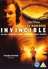 INVINCIBLE DVD Walt Disney Mark Wahlberg Original Very Rare UK Release Sealed