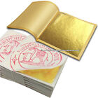 "GOLD LEAF LEAVES GENUINE REAL PURE 24K GILDING SHEET SHEETS 1.3"" x 1.3"" EDIBLE"