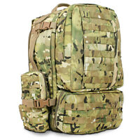 Sentinel 55L Military Rucksack British Army Cadet Camping Hiking MOLLE Bag MTP