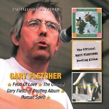 Gary Fletcher Feud Of Love/Official Bootleg Album/Human Spirit 2-CD NEW SEALED