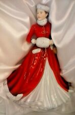Royal Doulton Pretty Ladies Noelle Christmas Canadian Figurine BRAND NEW COA
