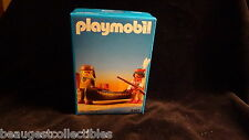 PLAYMOBIL Canoe Wild West #3397 RARE DISCONTINUED SET WITH FIGS & ACCESSORIES