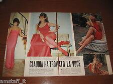 *=CLAUDIA CARDINALE=ANNI '60=RITAGLIO=CLIPPING=POSTER=FOTO=