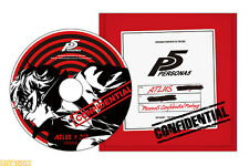 Persona 5 Special Limited Movie Blu-ray & DLC P4 Dancing All Night BONUS JAPAN